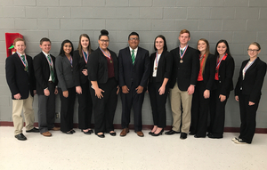 Rattan Speech Team at the Poteau Qualifying Tournament