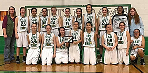 Congratulations to the Rattan Junior High Girls for winning the Rattan Invitational Elem/JH Tournament this year!