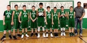 CONGRATULATIONS TO THE RATTAN ELEMENTARY BOYS FOR THEIR WIN IN THE RATTAN INVITATIONAL ELEM/JH TOURNAMENT THIS YEAR!